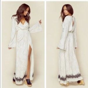 The jersey diaries planet blue maxi